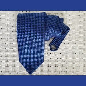 Burberry London Blue Vintage Silk Tie